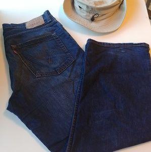 Blue Jeans LEVI'S 569 Size 34 x 30 For Men